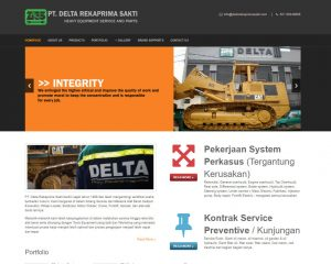 PT. DELTA REKAPRIMA SAKTI - Heavy Equipment