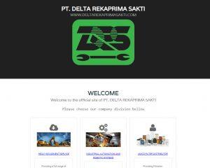 PT. DELTA REKAPRIMA SAKTI Mainpage